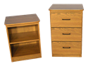 Picture of CLEARANCE: DF Nightstand 3 Drawer Walnut
