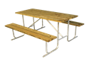 Picture of Wood Slat Picnic Table (6ft)