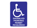 Picture of Disabled Parking Permit Required