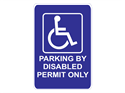Picture of Parking By Disabled Permit Only