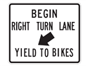 Picture of Begin Right Turn Lane Yield To Bikes