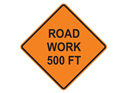 Picture of Road Work 500 FT