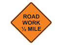 Picture of Road Work 1/2 Mile