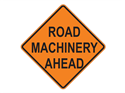 Picture of Road Machinery Ahead