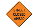 Picture of Street Closed Ahead