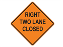 Picture of Right Two Lane Closed