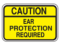 Picture of Caution Ear Protection Required