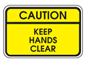 Picture of Caution Keep Hands Clear