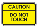 Picture of Caution Do Not Touch