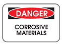 Picture of Danger Corrosive Materials