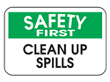 Picture of Safety First Clean Up Spills