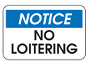 Picture of Notice No Loitering