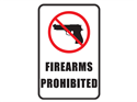 Picture of Firearms Prohibited w/Picture