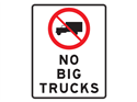 Picture of No Big Trucks w/Picture