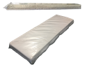 Picture of Clear vinyl Jail Foam Mattress