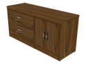 Picture of Miller Lateral File Credenza