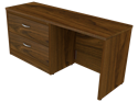 Picture of Miller Lateral File Kneehole Credenza